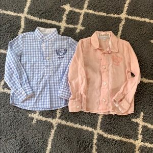 Boys 2T Button Down Dress Shirts